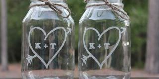 Befőttes üveg újrahasznosítva