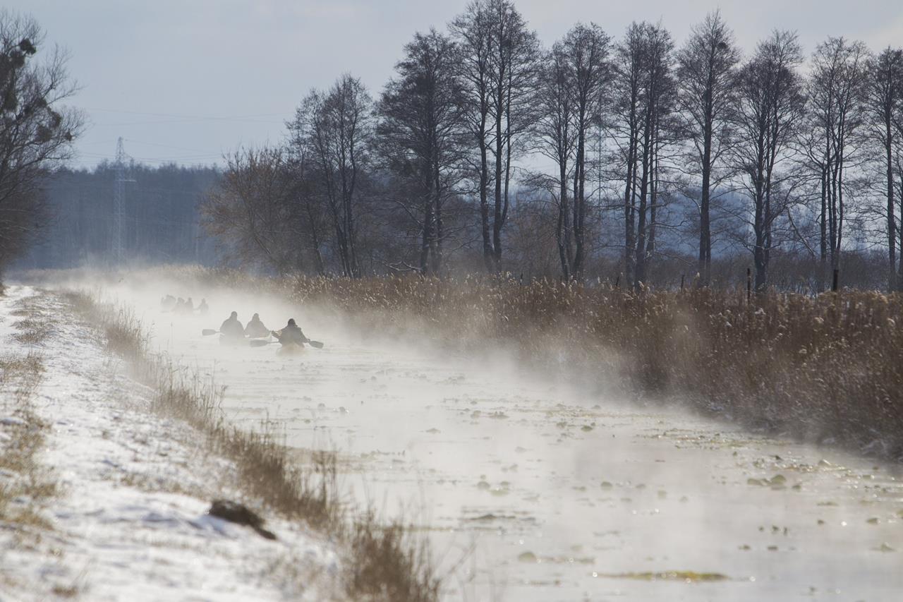 Hideg idő - Hévízi-csatorna