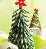 Karácsonyfadísz száraztésztából