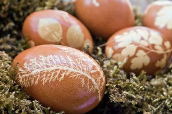 Régimódi tojásfestés