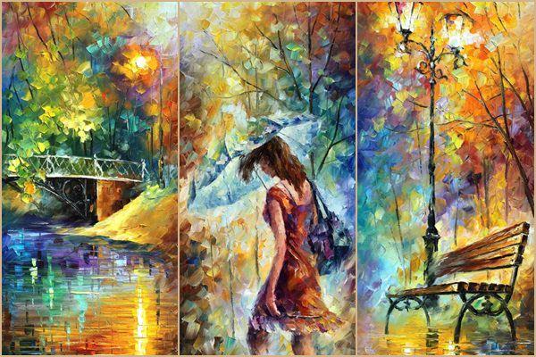 Leonid Afremov léleksimogató festményei