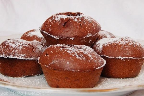 Túrórudis muffin