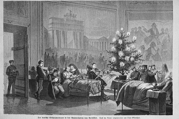 Karácsonyfa 1871 a Der Gartenlaube c újság 109 oldala Lipcse
