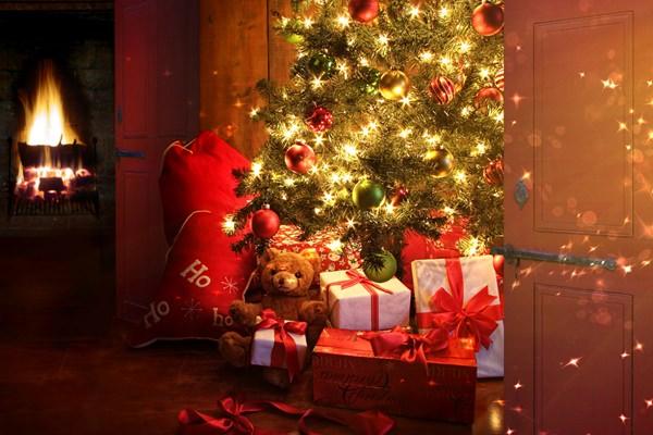 Karácsony kandalló