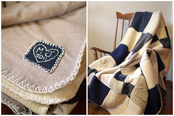 Pihe-puha takaró pulcsiból