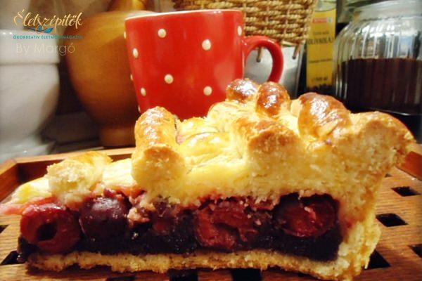 Meggyes-mákos pite