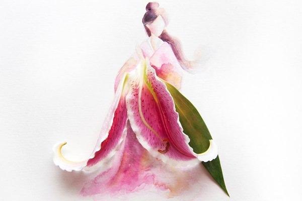 Limzy virág akvarell
