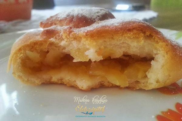 Almás táska glutén-, tej- és tojásmentesen