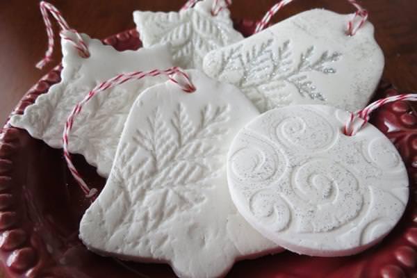 Szódabikarbóna karácsonyfadísz