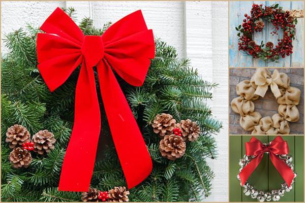 Karácsony ajtódíszek