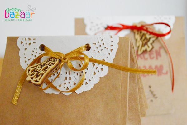 Karácsony csomagolás papír