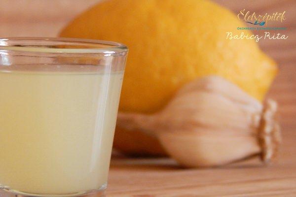 Vitalizáló, regeneráló hatású citromos-fokhagymás kúra
