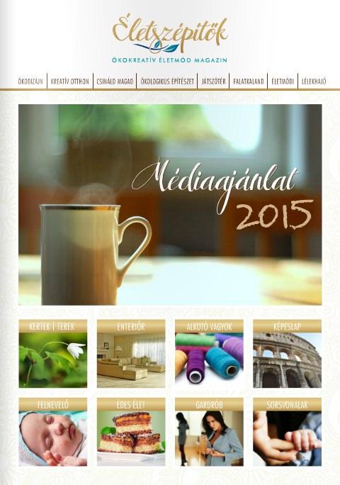 Médiaajánlat 2015