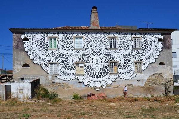 Street Art csipke