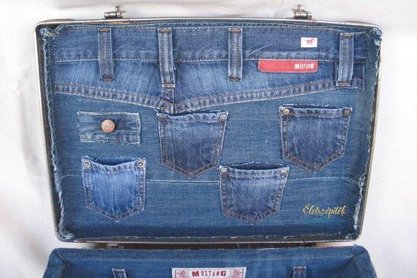 Koffer újrahasznosítás farmer