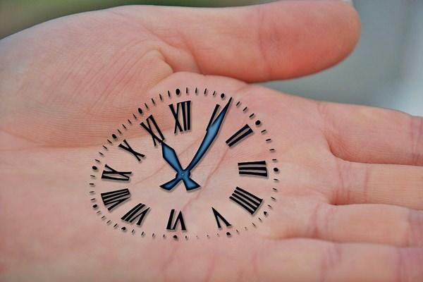 Óra kéz idő