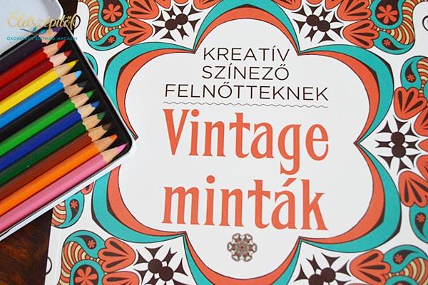 Vintage színező