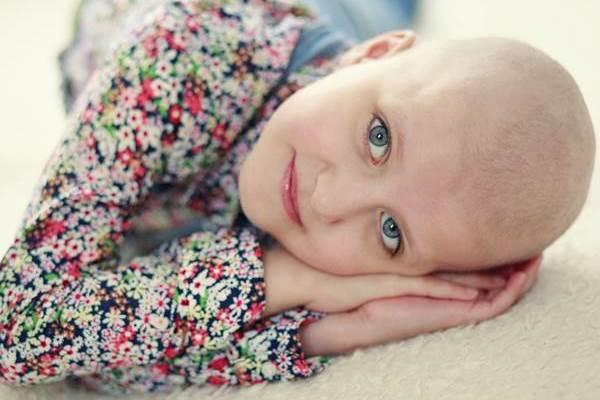 Beteg gyerek kislány
