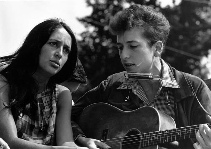 Joan Baez és Dylan