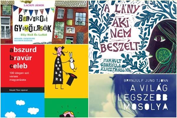 A Magyar Gyermekirodalmi Intézet ajánlása: a 25 legjobb gyermek- és ifjúsági könyv 2015-ben