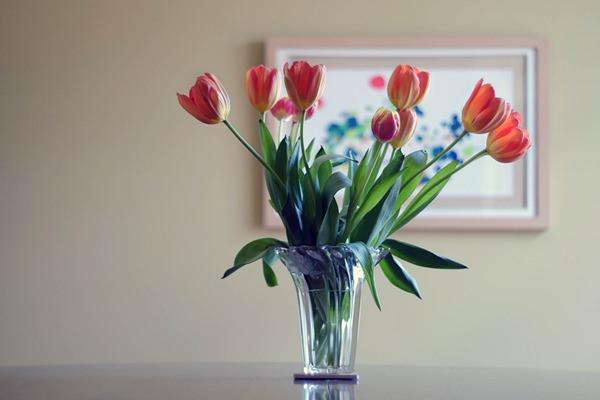 Virágok váza