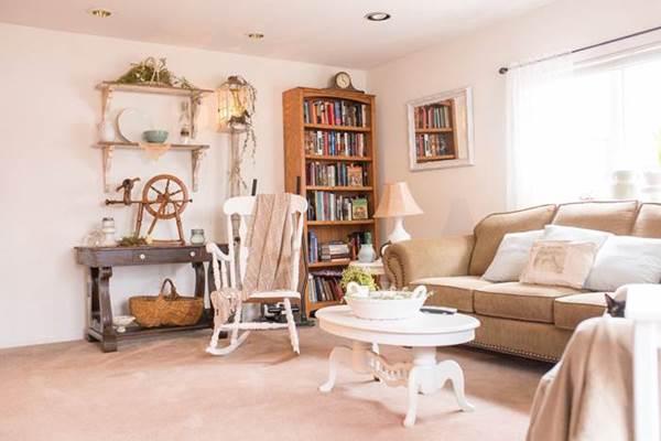 Enteriőr lakberendezés nappali