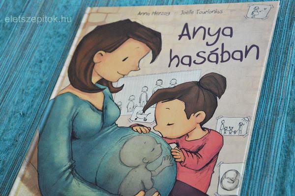 Anya hasában, avagy hogyan születik a baba? Felvilágosítókönyv nagyovisoknak, kisiskolásoknak. Könyvismertető