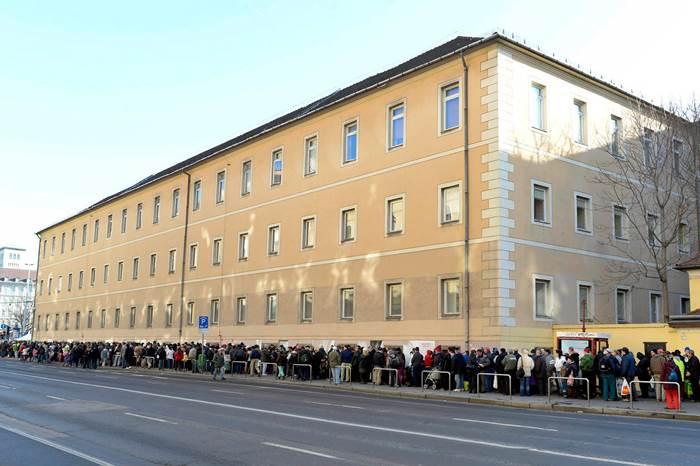 Ételosztás Budapesten Fotó: MTI/Soós Lajos