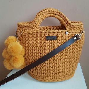 Horgolt női táska