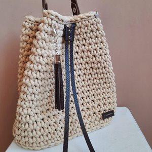 Handmade horgolt hátizsák