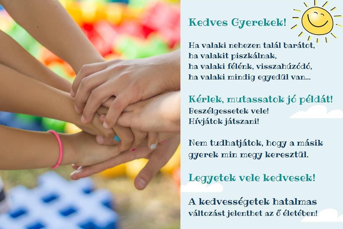 A kedvesség csodákra képes! Letölthető érzékenyítő plakát általános iskolásoknak